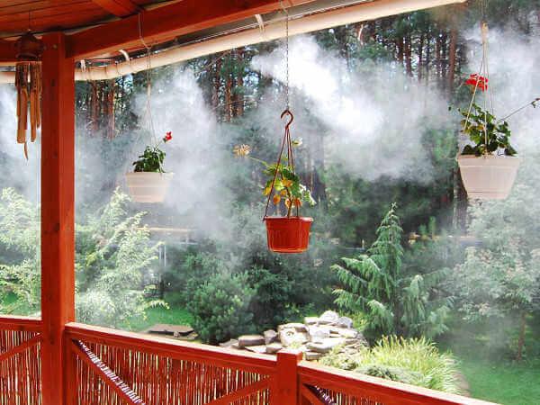 Туманообразование для террас