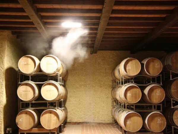 туманообразование в винных погребах